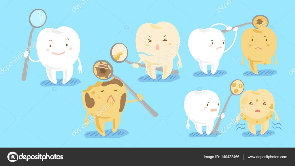Decay clipart healthy tooth Decay decay Vector Stock Vector