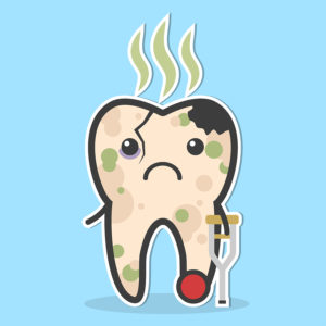 Decay clipart kid tooth  Decay Awareness Tooth