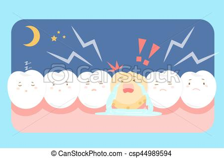 Decay clipart sad With with tooth problem decay