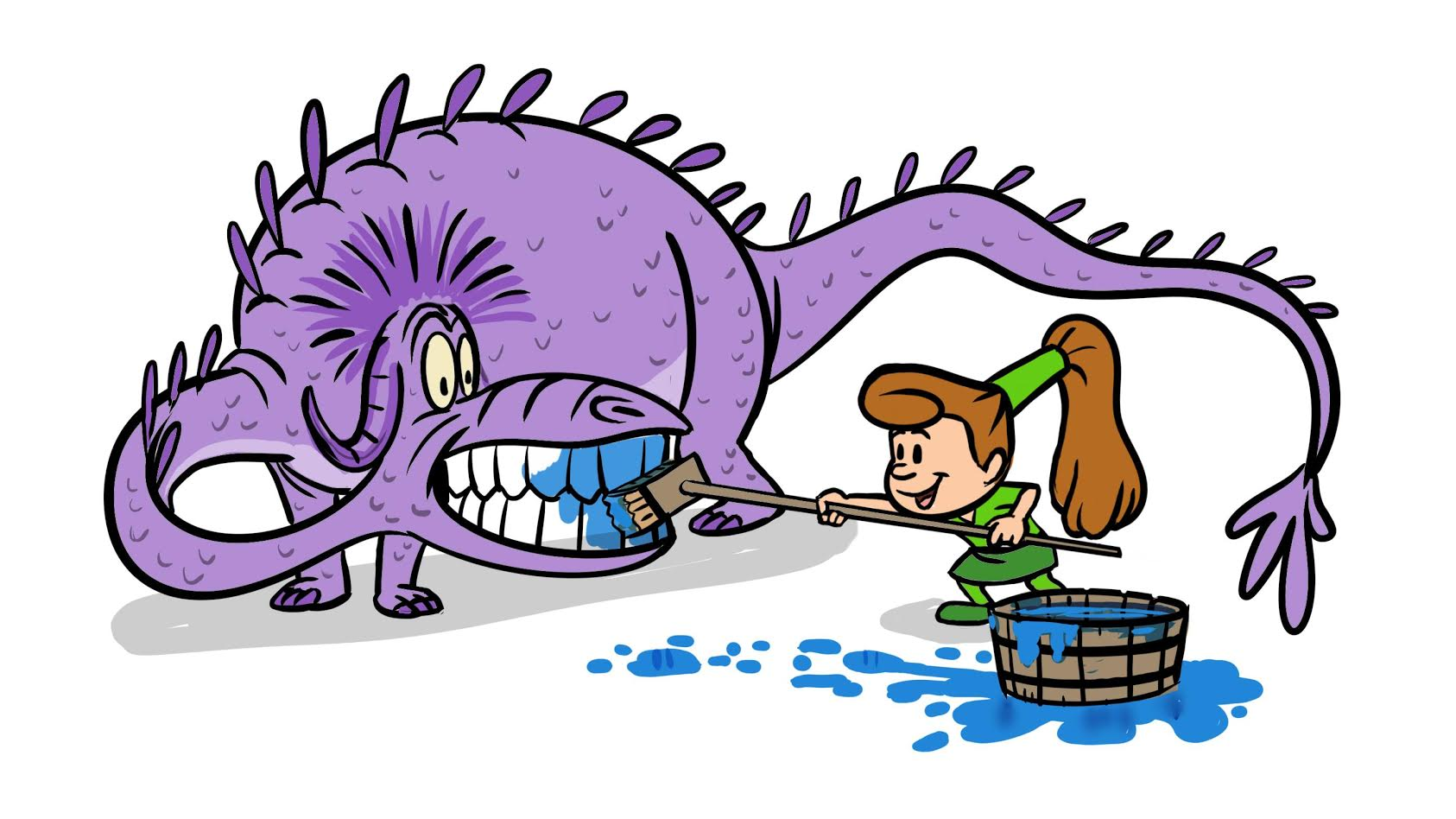 Decay clipart teeth cleaning Every Cabezon may Pediatric Kids