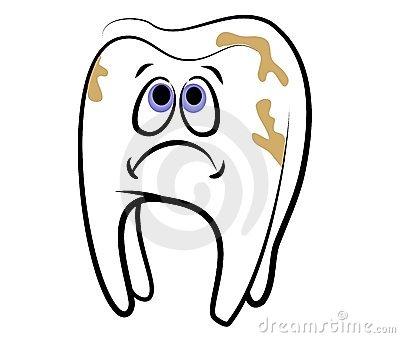 Teeth clipart cavity cartoon Art – 07 Clip 101