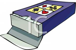 Deck clipart Clip Of Picture: Deck of