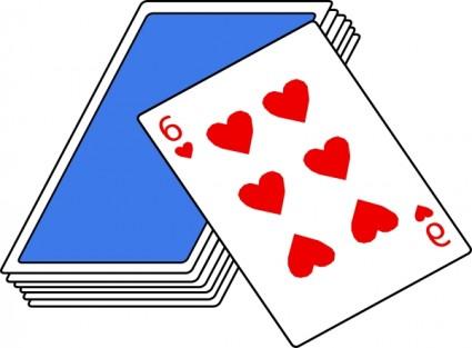 Card clipart deck Blackjack 109 Clipart Clipart #cards_clip_art_24079