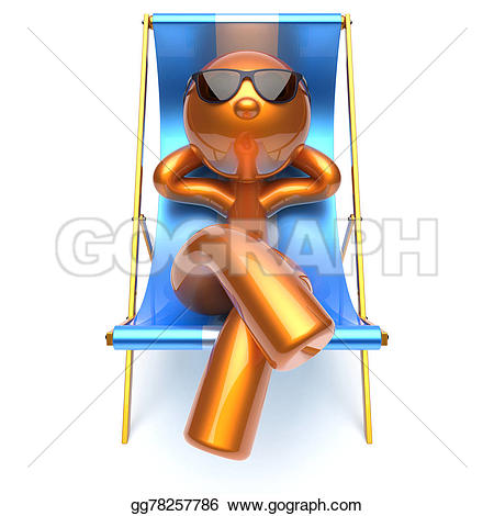 Chilling clipart is coming Person harmony deck lounge chilling