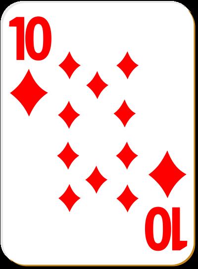 Card clipart deck Of Deck card games Recreation