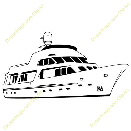 Yacht clipart deck Boat Party Art Art Double