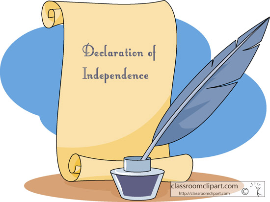 Declaration Of Independence clipart Art Clipart Images Of Clip