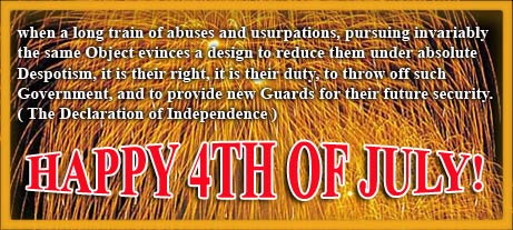 Declaration Of Independence clipart 4th july Declaration Happy 4th Of with