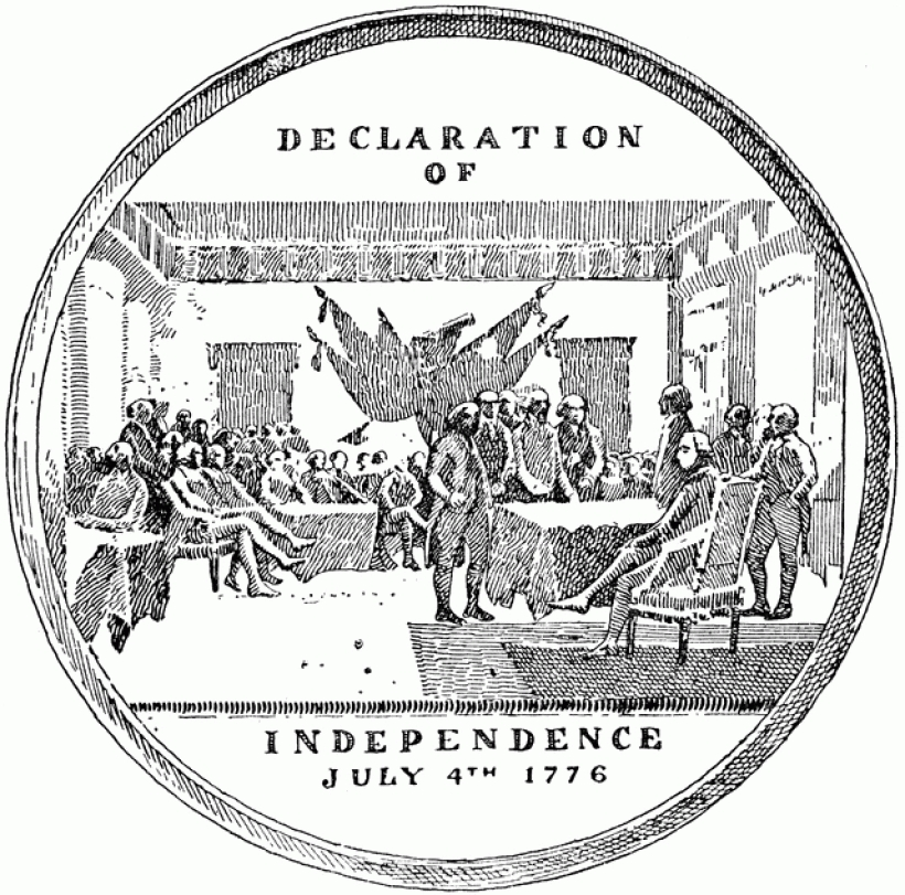 Declaration Of Independence clipart Independence inside of clipart commemorating