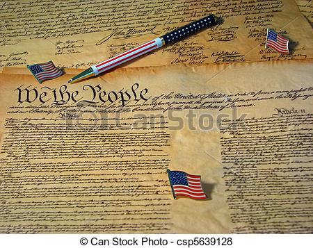 Declaration Of Independence clipart student The copy the A Constitution