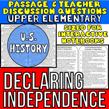 Declaration Of Independence clipart historical fiction Lesson Fiction  Reading Declaration