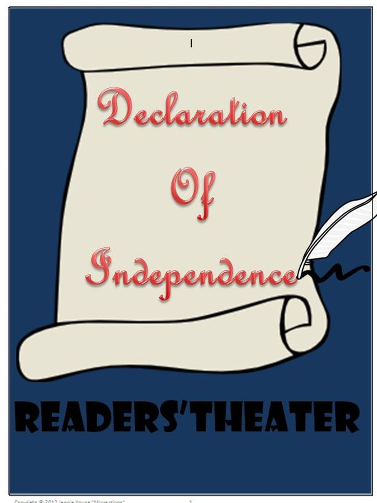 Declaration Of Independence clipart historical fiction Pinterest Theater 85 Declaration Independence