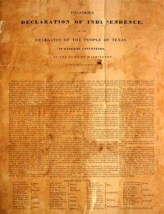 Declaration Of Independence clipart ind 2015 Sunday of Texas Clip