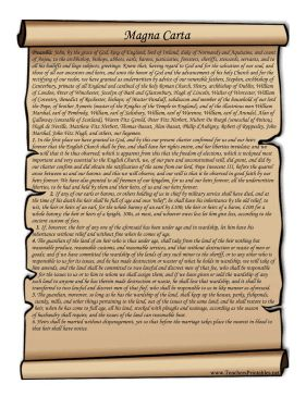 Declaration Of Independence clipart magna carta The European printable on for