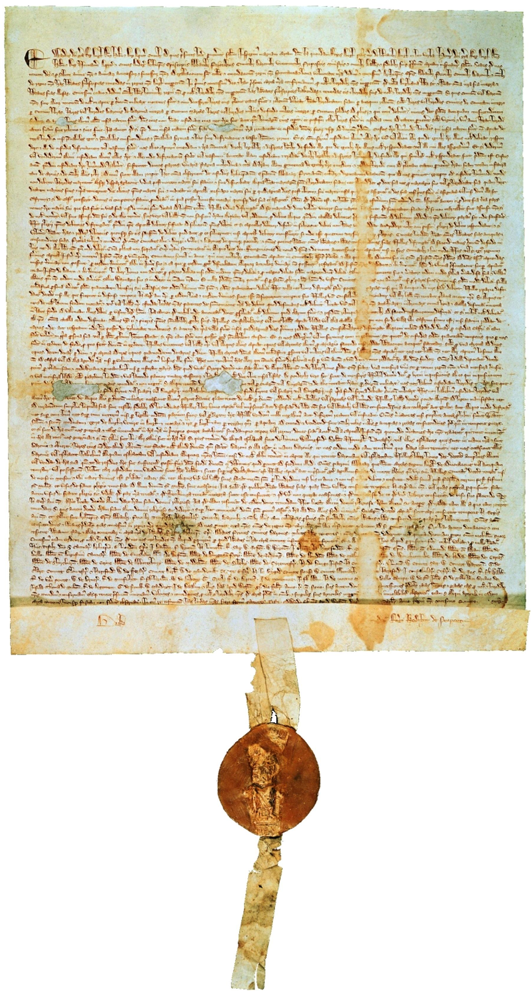 Declaration Of Independence clipart magna carta Carta Magna « version 1297