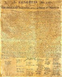 Declaration Of Independence clipart magna carta 4th July independence of read