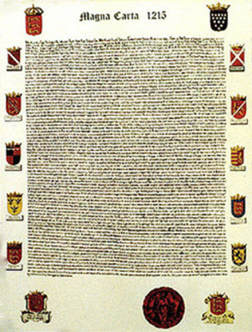 Declaration Of Independence clipart magna carta Before Documents of After Carta