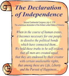 Declaration Of Independence clipart magna carta Drawing the declaration  independence