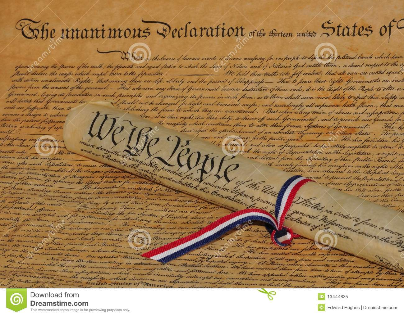 Declaration Of Independence clipart scroll Scroll Constitution Declaration of Gallery