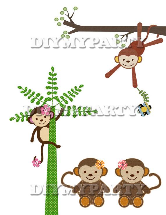 Decoration clipart art file Decor decoration 40% monkey decoration