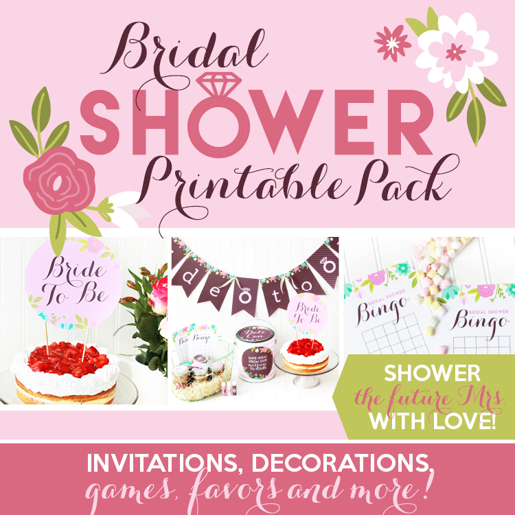 Decoration clipart bridal shower Pack Printable Ideas Bridal Bridal