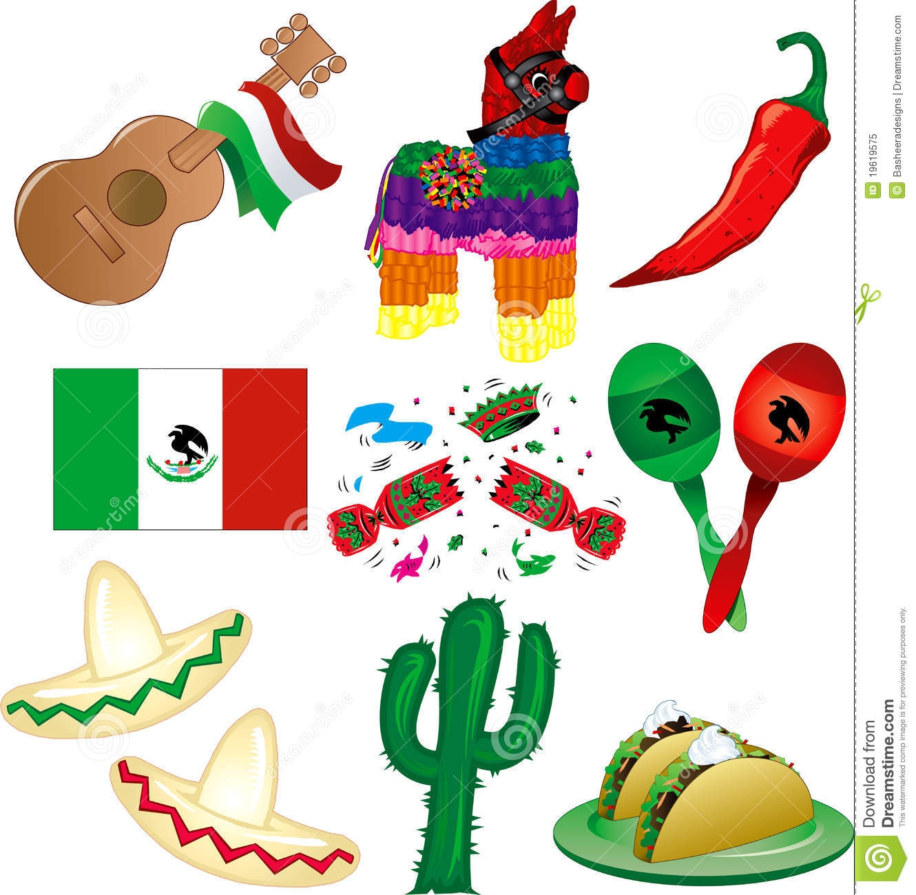 Decoration clipart mexican decoration Patio Decorations Mexican Craft Design