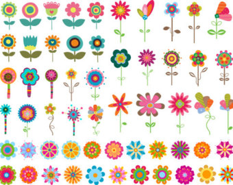 Decoration clipart mexico Art Flower Craft Art Etsy