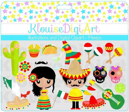 Decoration clipart mexico Dolls best Cute world of