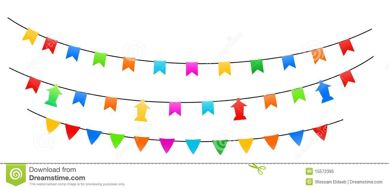 Decoration clipart party banner Home party :  decorations