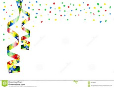 Decoration clipart party streamer Decoration isolated sylvester Art parties