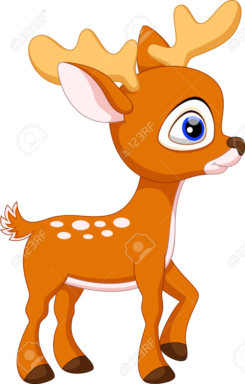 Dear clipart cute deer Deer Google baby cartoon Cartoon