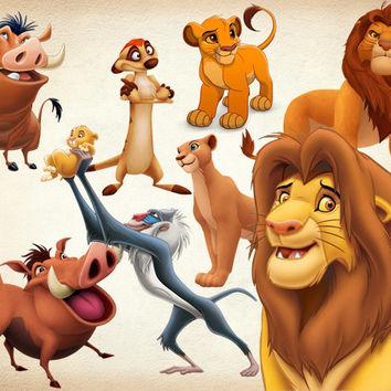 The Lion King clipart disney Digital 22 Image PNG Art