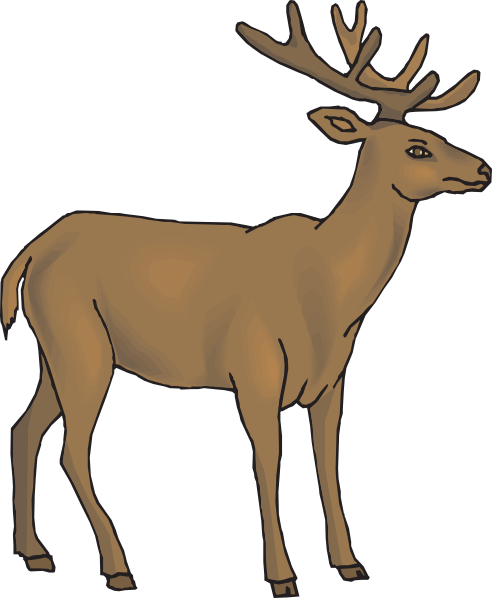 Buck clipart money symbol Online royalty Deer Download art