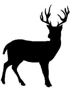 Wolf clipart deer Deer+siluet+pictures Clip Animal Deer more
