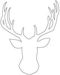 Drawn reindeer face 20+ assets on Result Deer
