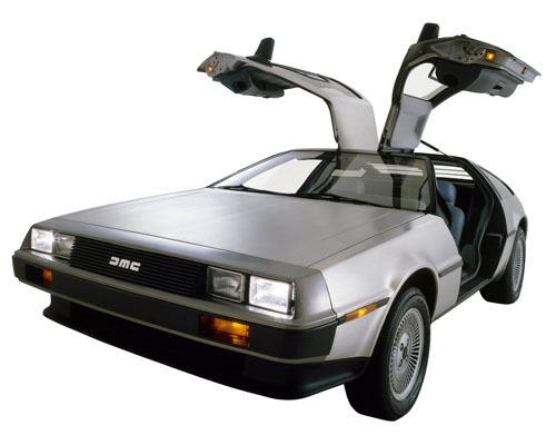 Delorean clipart Back DeLorean across United Company