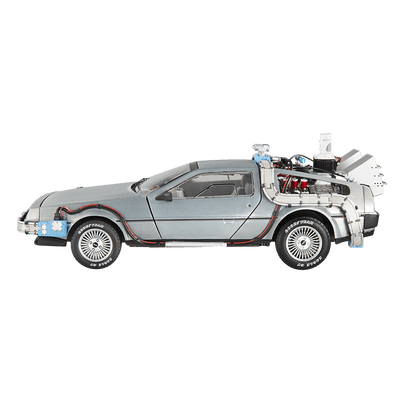 Delorean clipart Transparent Side Delorean PNG StickPNG
