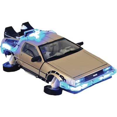 Delorean clipart Transparent StickPNG To Delorean PNG