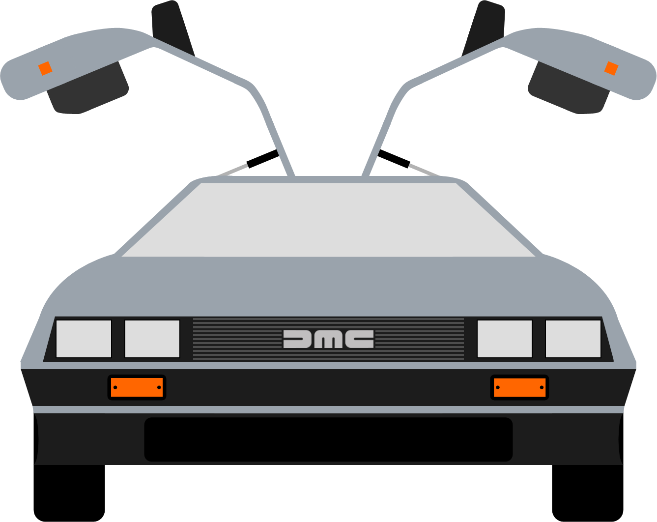 Delorean clipart BacktotheFuture clip that that clip