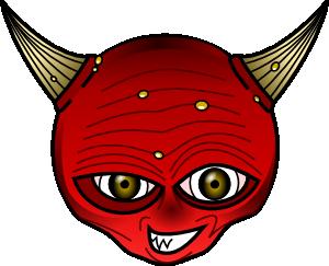 Demon clipart #12