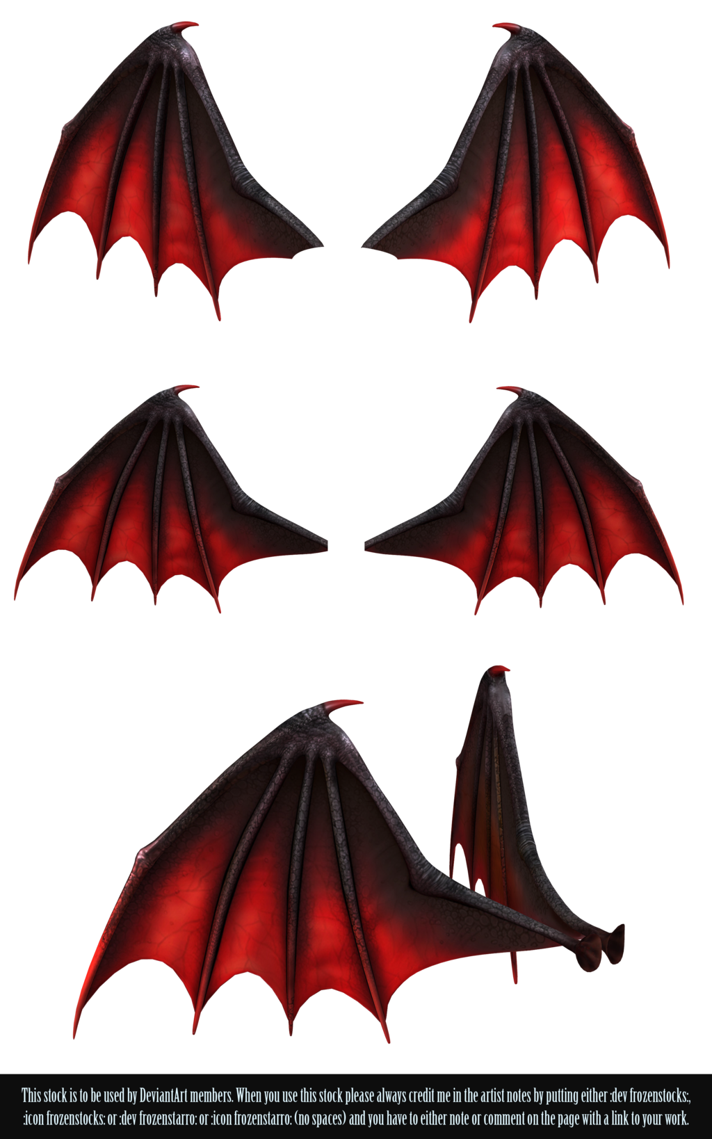 Wings clipart demon wings RESTRICTED RESTRICTED on Demon Wings