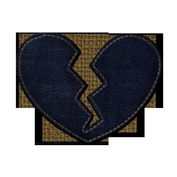 Denim clipart heart Clipart icons Clipart Broken etc