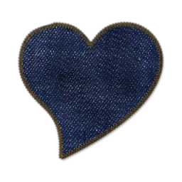 Denim clipart heart Icons 6 » valentines Icon