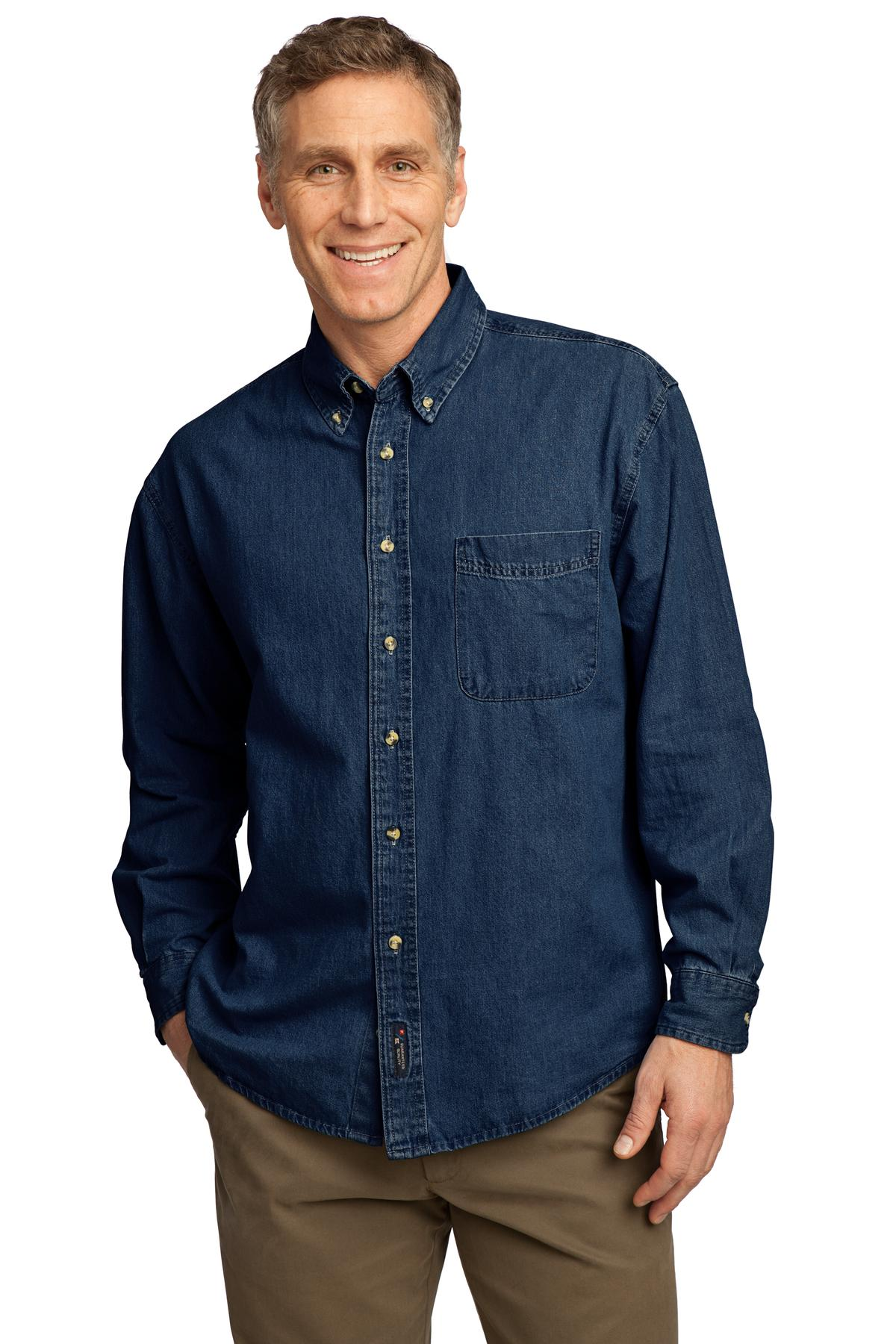 Denim clipart long sleeve shirt 9 Long Shirt Blue Sleeve