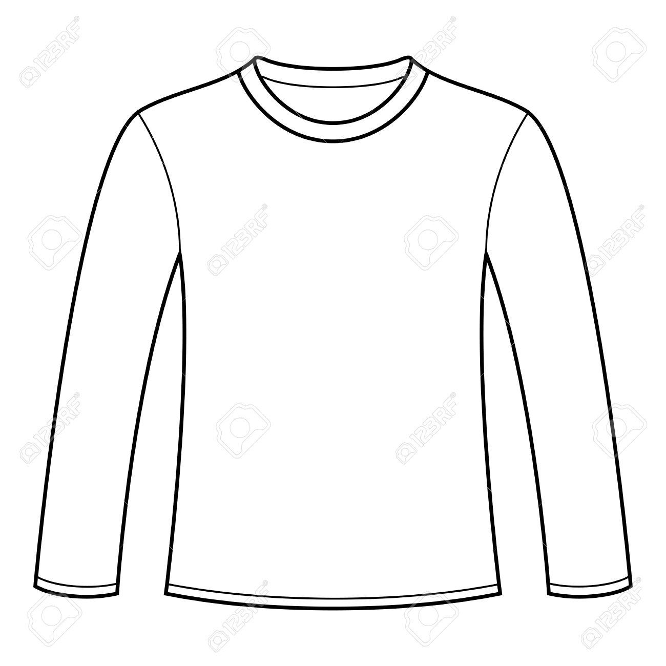 Denim clipart long sleeve shirt #23 Shirt art Clipart Fans
