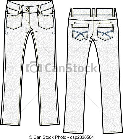 Denim clipart skinny jeans Skinny  lady jeans of