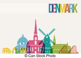 Denmark clipart Skyline Travel Denmark  destination