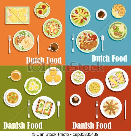 Denmark clipart cinnamon Vectors and Dutch csp35835439 Traditional