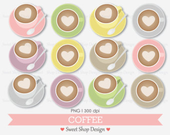 Cappuccino clipart coffee bean Coffee Art Coffee Clip Clipart