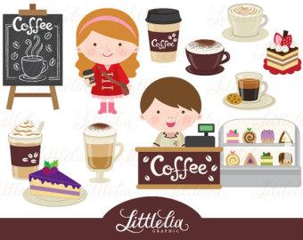 Coffee clipart cute Shop clipart Etsy Coffee Coffee
